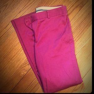 Hot pink Express Editor pants, size 8